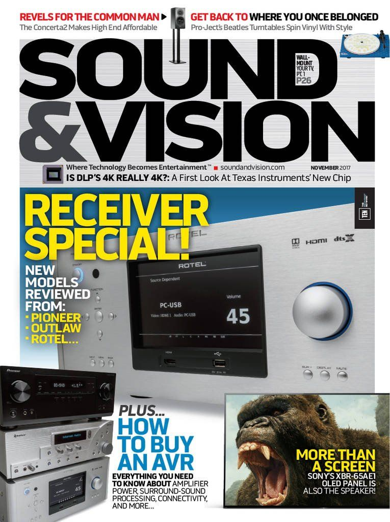 Sound & Vision by TEN: The Enthusiast Network. Home Theater magazine ...
