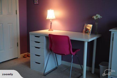 Ikea Linnmon Alex Table 150x75cm White Trade Me Ikea Home N Decor Girl Desk