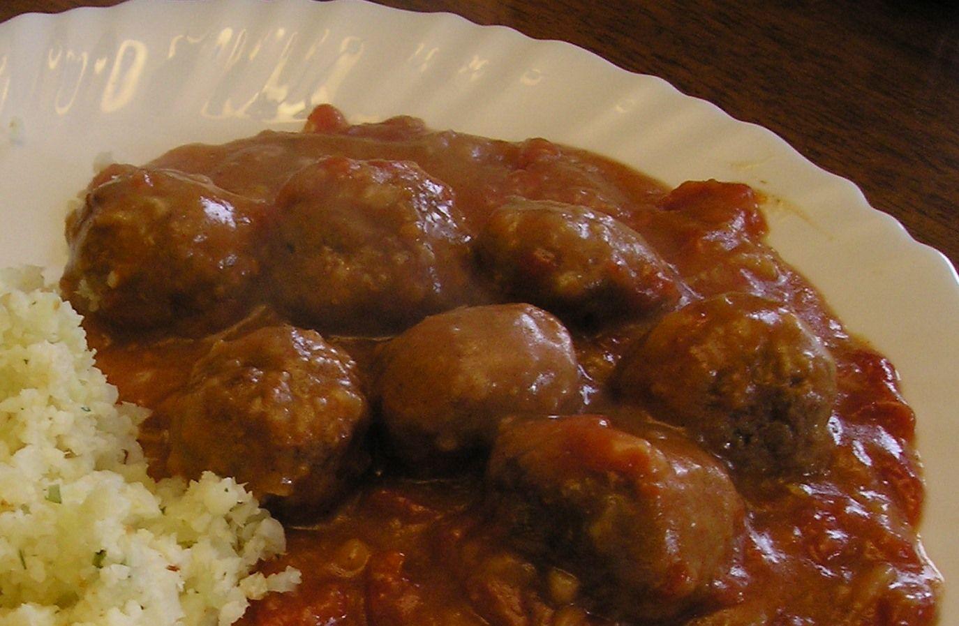 recipe: no carb meatballs and sauce [34]