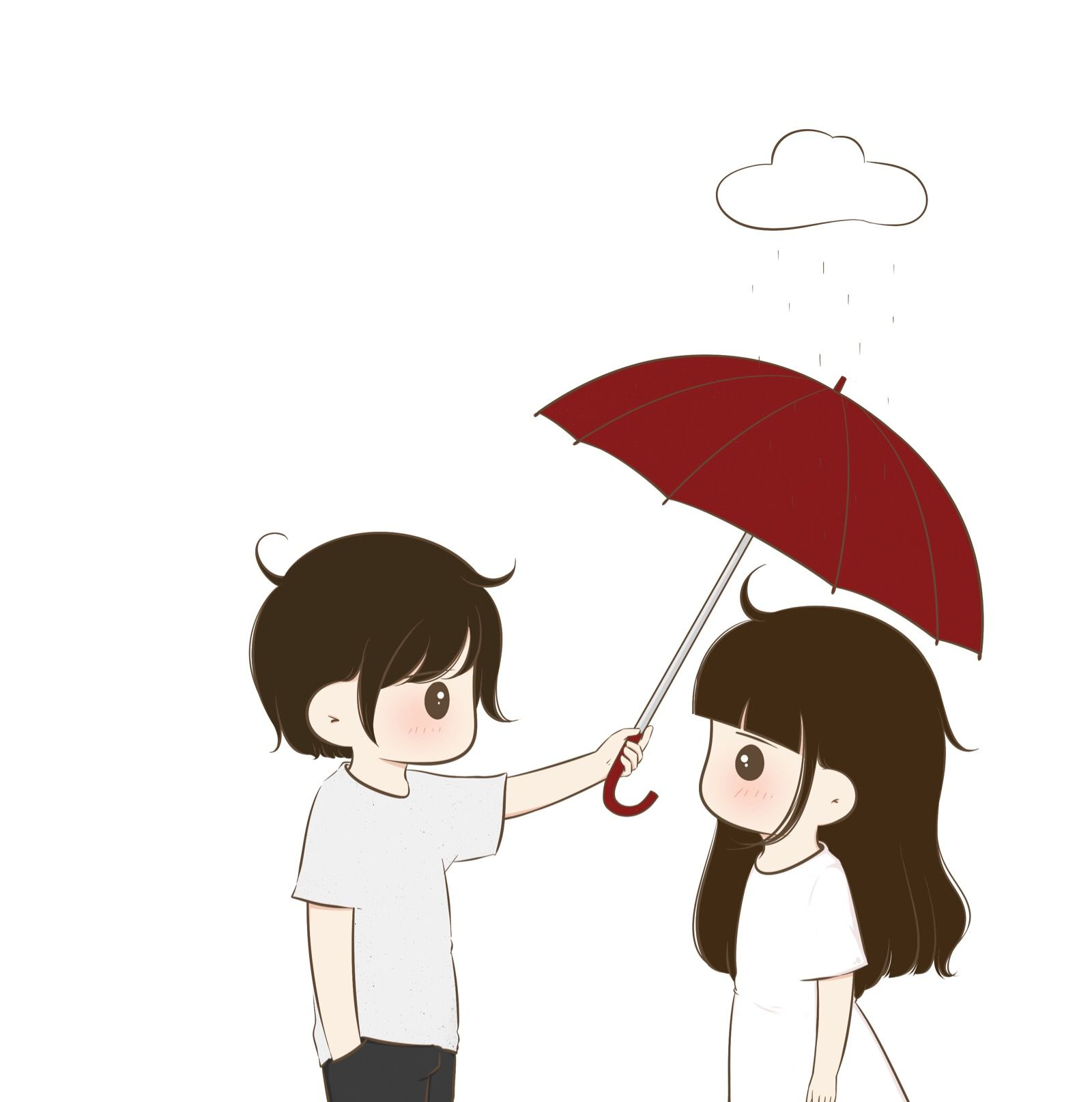Pin By Nosa Channel Tv On Anime Love Couple Cute Love Gif Cute Couple Wallpaper Cute Cartoon Wallpapers