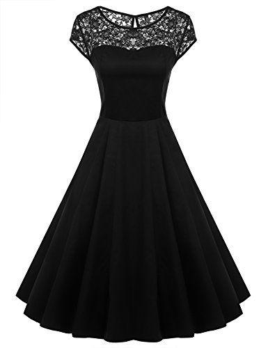 529217d9a12 25 Gorgeous Black Wedding Dresses - Deer Pearl Flowers