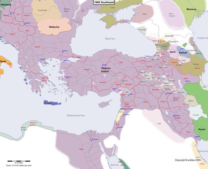 1600 Europe Map.Map Showing Europe 1600 Southeast Maps Slavic Lands Pinterest
