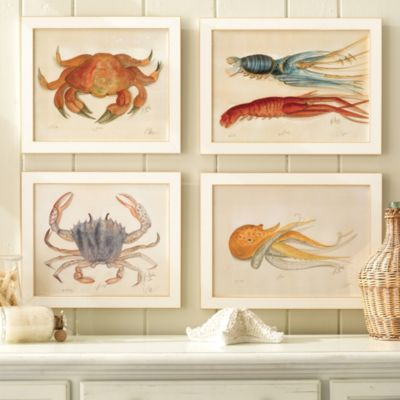 Ocean Life Water Color Prints | @Meredith Towns this has you written all over it . You need to get one of these or all!