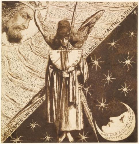 Dantis Amor - Dante Gabriel Rossetti