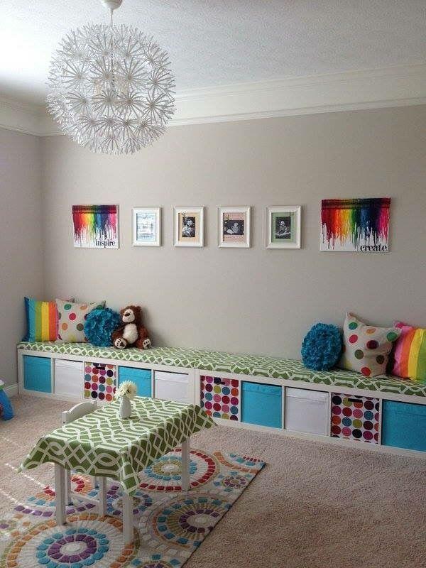 Ikea Playroom Kids Storage Organization Ideas