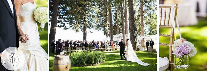 Sunnyside Lake House Tahoe Wedding