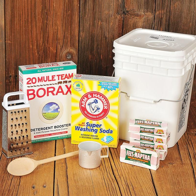 Homemade Laundry Soap Starter Set Laundry Soap Homemade