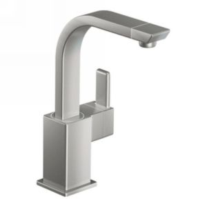 Moen S7597csl 90 Degree Single Handle Kitchen Faucet With Pull Out
