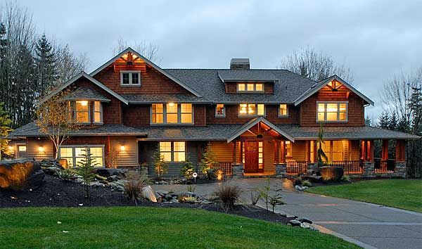 Plan 23374JD: Craftsman Luxury on a Budget | Luxury house ...