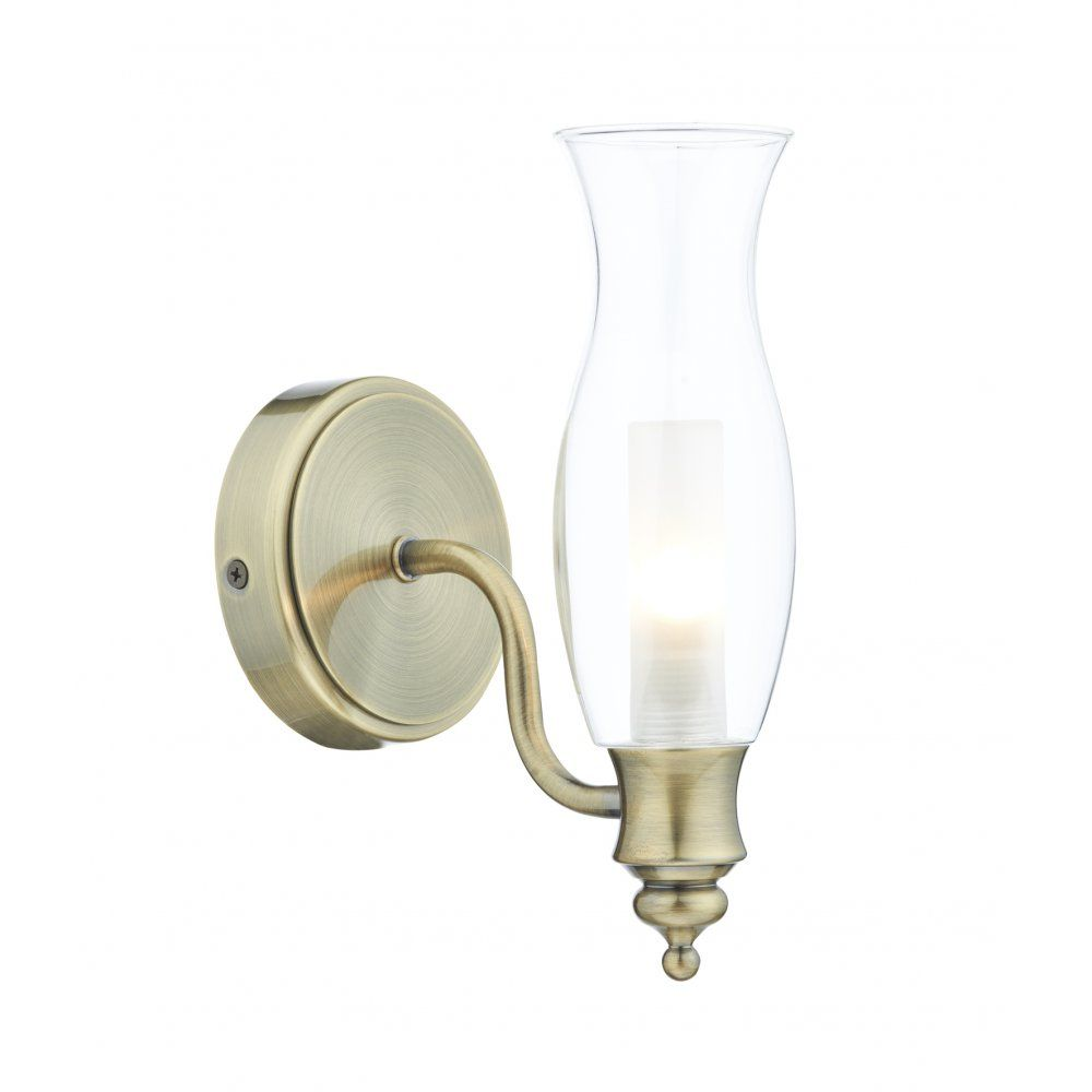 Cambridge Lighting VESTRY Traditional Oil Lamp Style Bathroom Wall - Antique brass bathroom light fixtures for bathroom decor ideas
