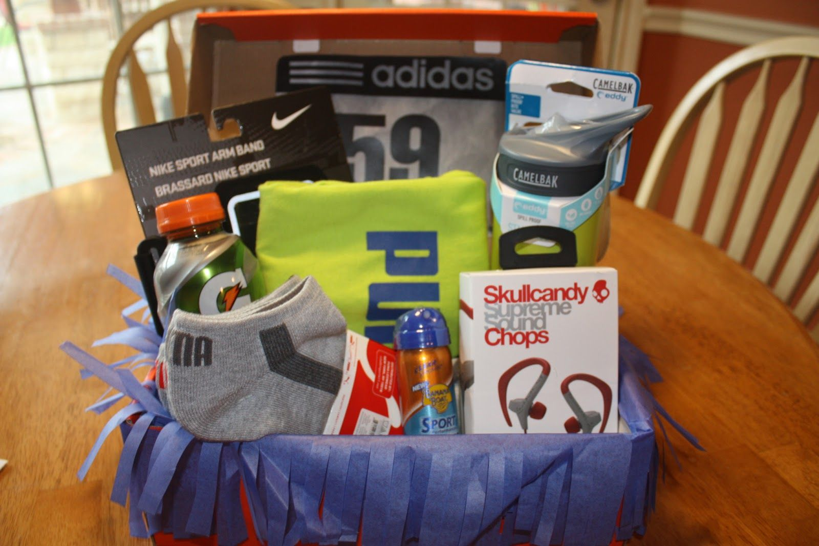 nike gift basket ideas