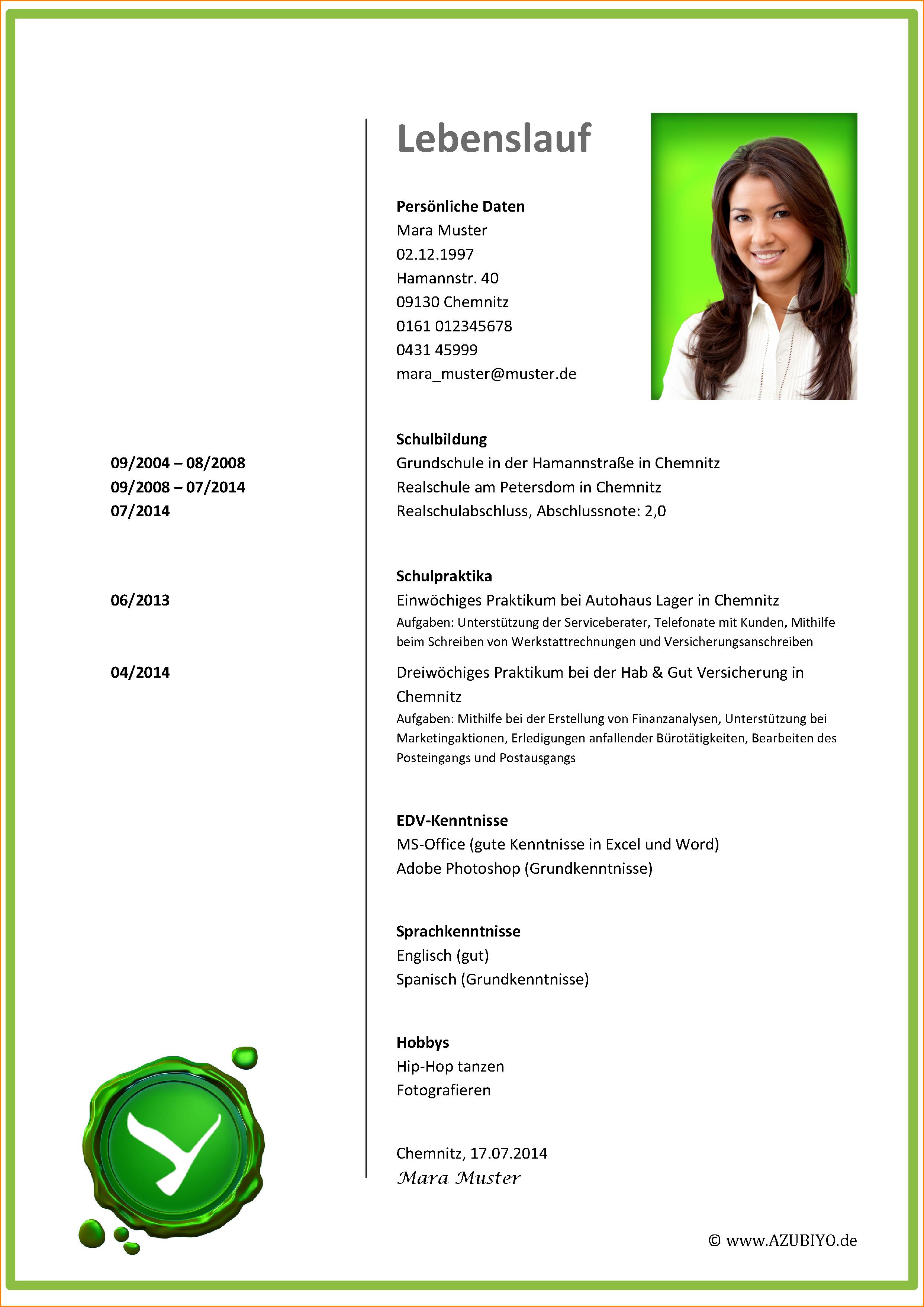9 Muster Lebenslauf 2016 Reimbursement Format Lebenslauf 2016 Document Templates Resume Words Functional Resume