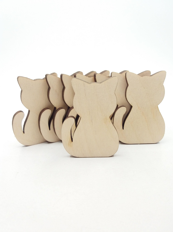 Wooden MDF Shapes Crafts Flamingo Scrapbooking Embellishments Card Decoration