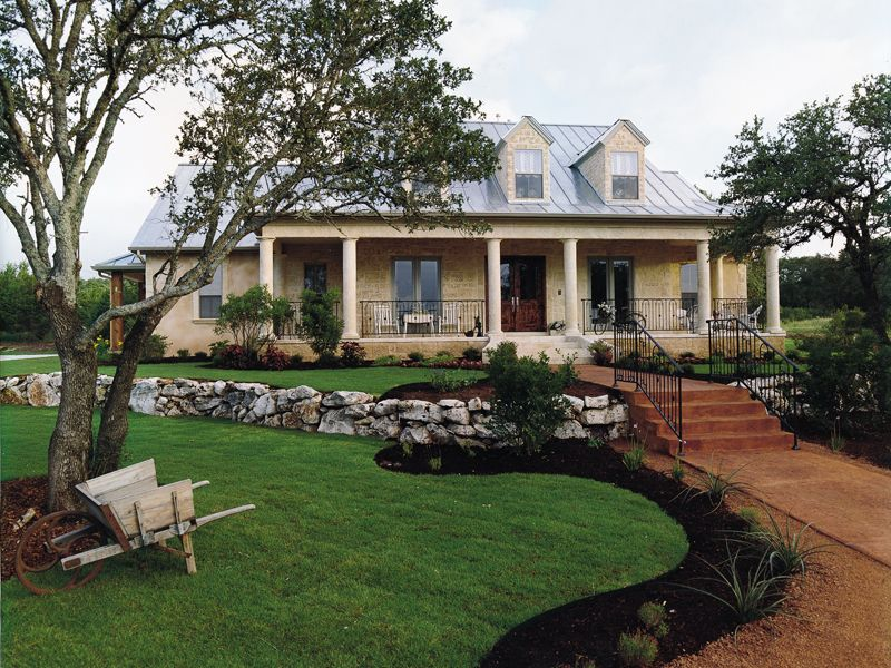 custom hill country house plans. Dublin Hill Rustic Country Home Has A Custom Feel from  houseplansandmore com