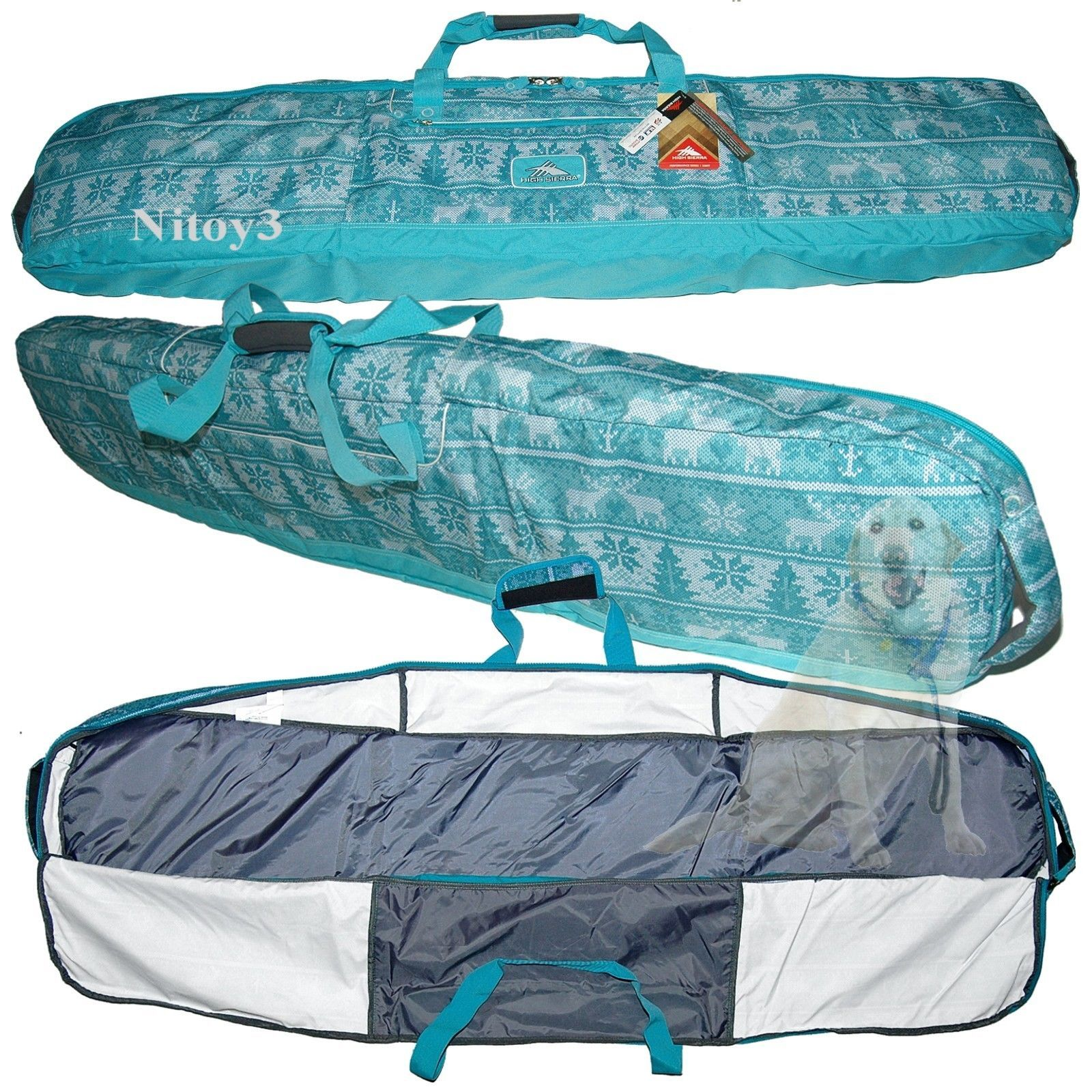 dcd14785d5 Other Snowboarding 159155  High Sierra Deluxe Padded Snowboard Bag Hand Or  Shoulder Carry-170Cm