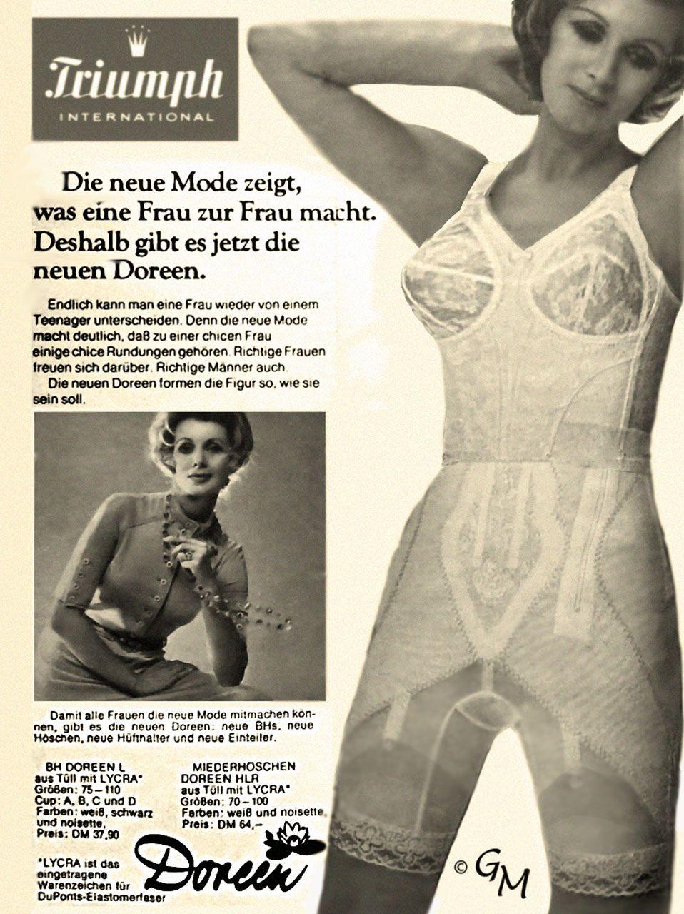 db07b82ed22 Vintage Girdle Doreen about 1962 Adaption © Girdlemaster