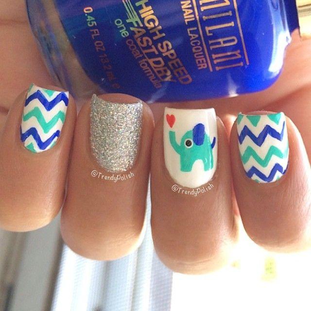 pin lapaloma nail art patterns