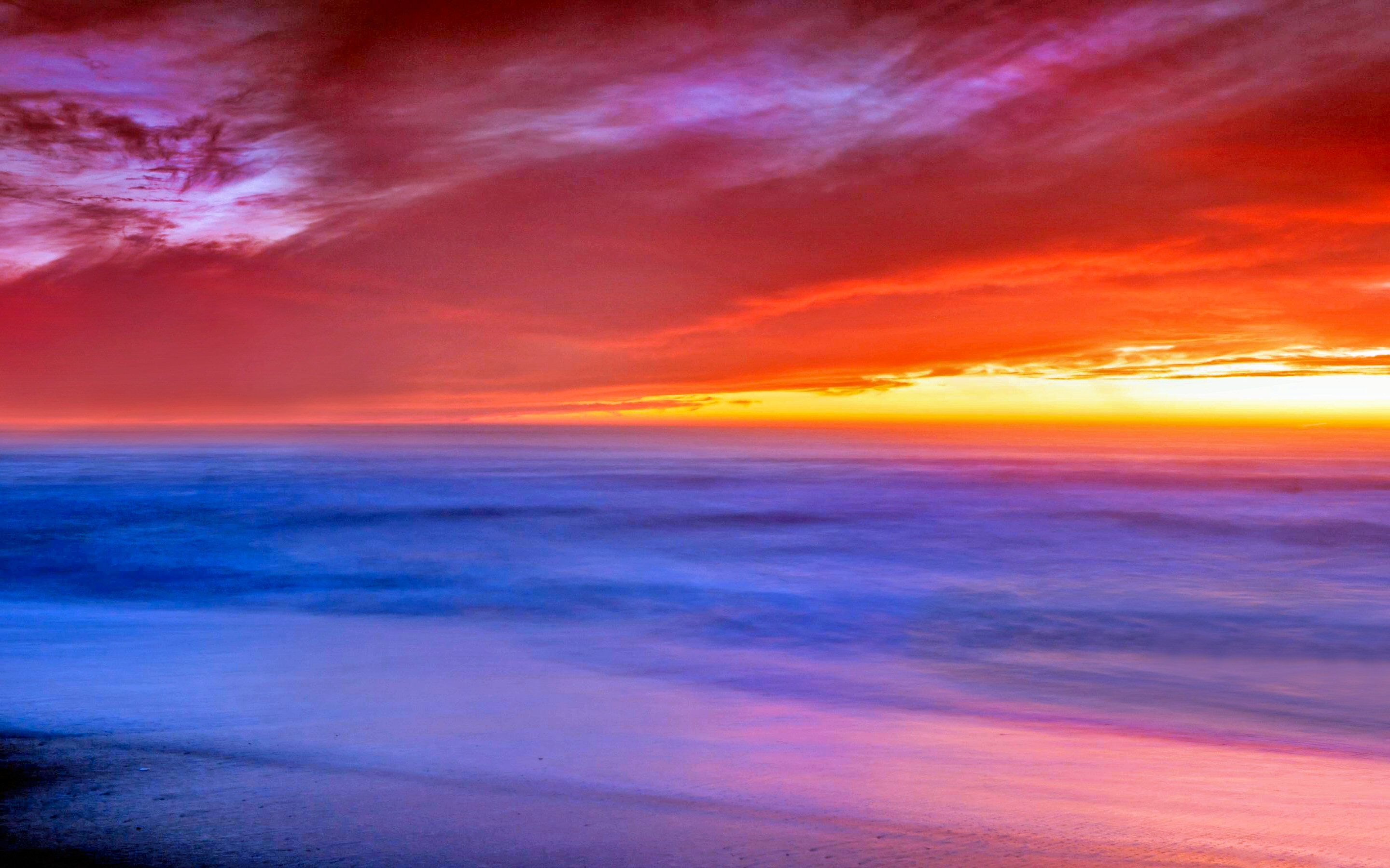 Image Result For Beach Wallpaper With Sunset Awesome Beautiful Red Sunset By The Sandy Beach Wallpaper Beach