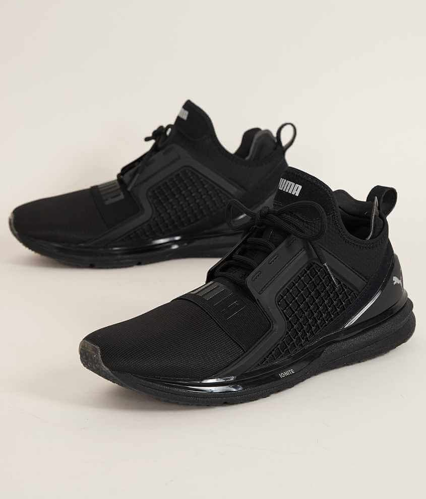 Puma Basket evoKnit 3D Mens Trainers Black Fasion Sport Stylish Sneakers