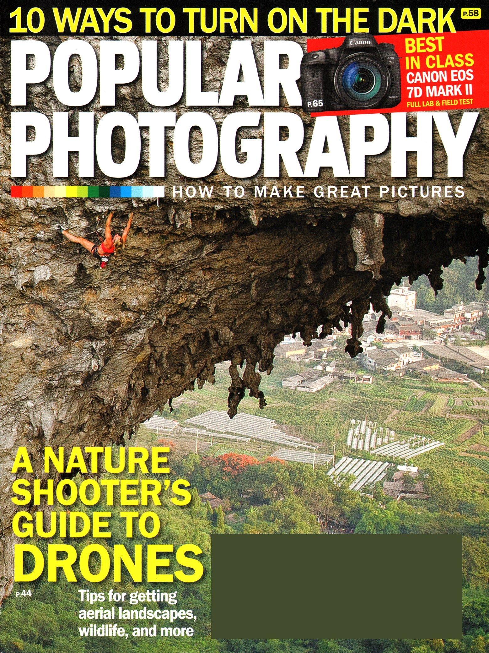 Popular Photography Cover For 2/1/2015
