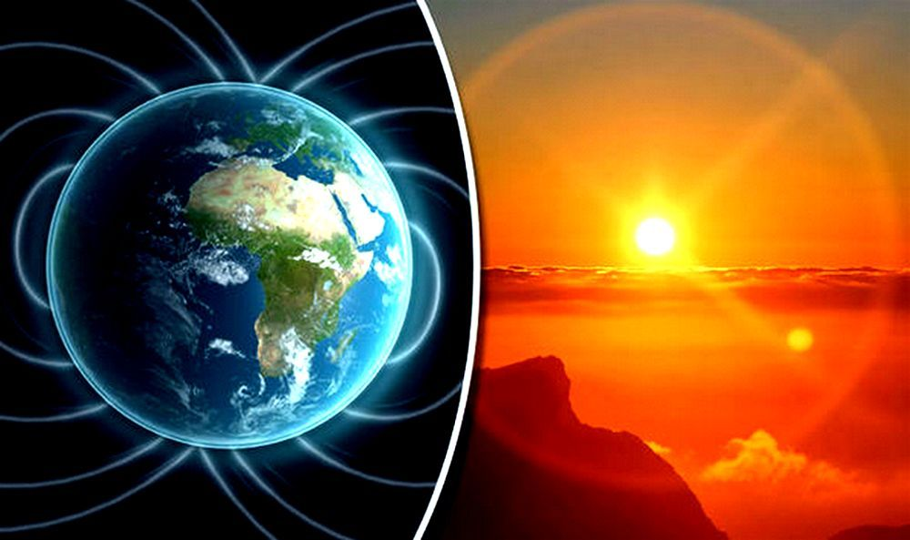 Nasa earths poles are switching with