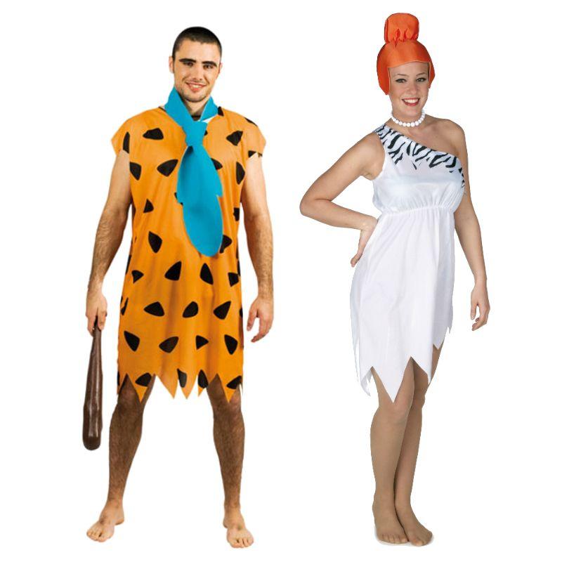 Pareja de pedro y wilma picapiedra parejas disfraces for Disfraces parejas adultos