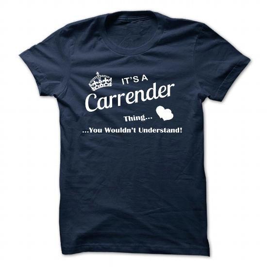 CARRENDER