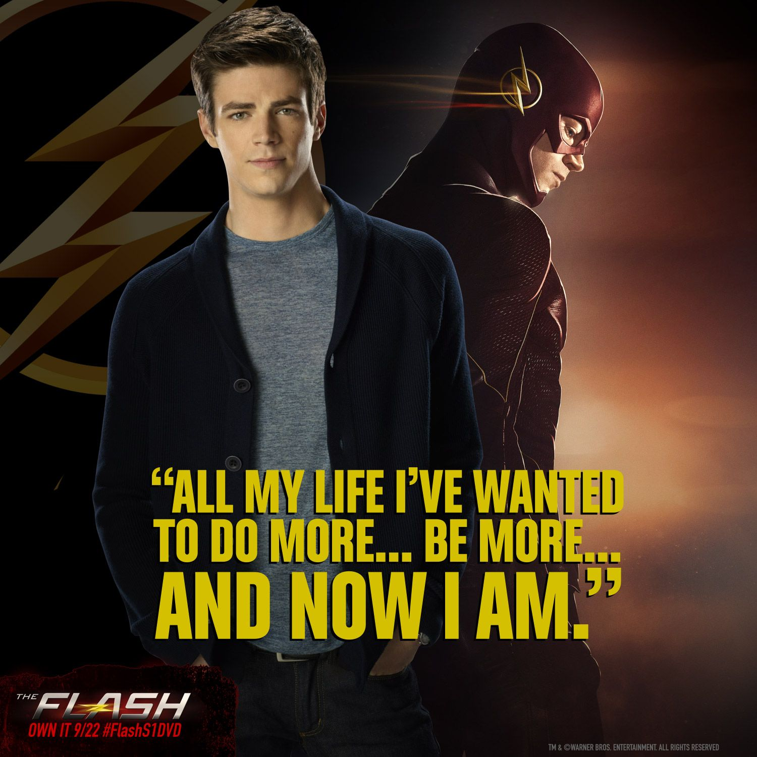 The Flash Quotes There's a hero in all of us. Watch Barry go from ordinary to the  The Flash Quotes