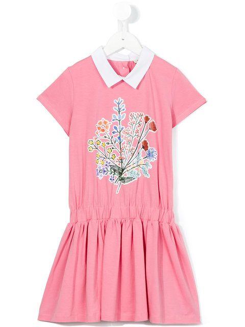 Fendi Kids floral print dress