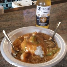 Photo Of Little New Orleans Kitchen Oyster Bar Orlando Fl United States Jambalaya No Pork Extra Shrimp Oyster Bar Foodie Oysters