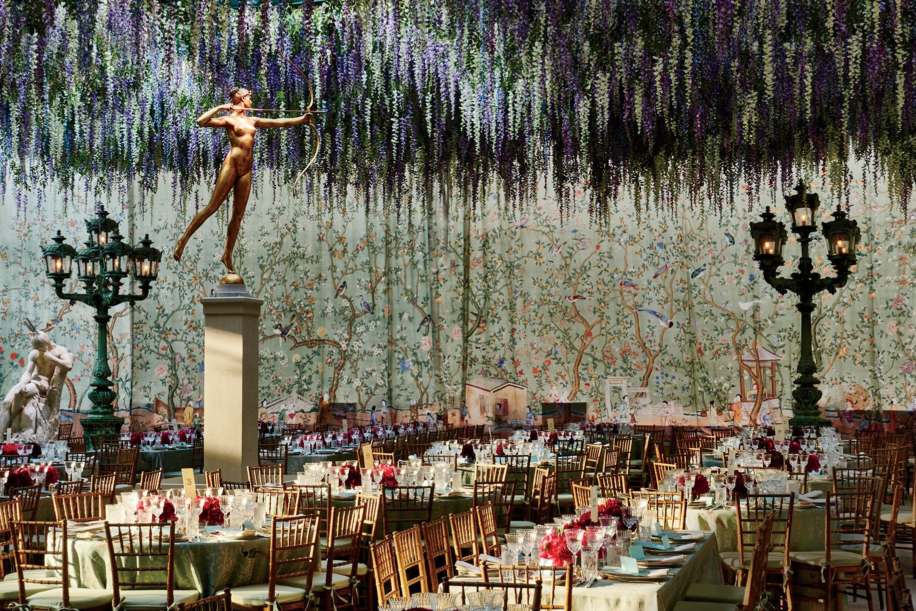 Inside The Met Gala A Look Back At Decade Of Stunning Interiors