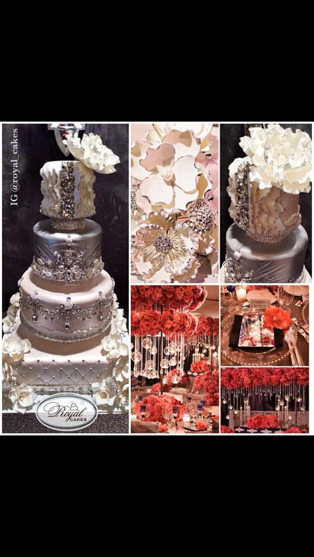 Pin by Nora Zayed on Fancy Cakes Royal cakes, Glamorous