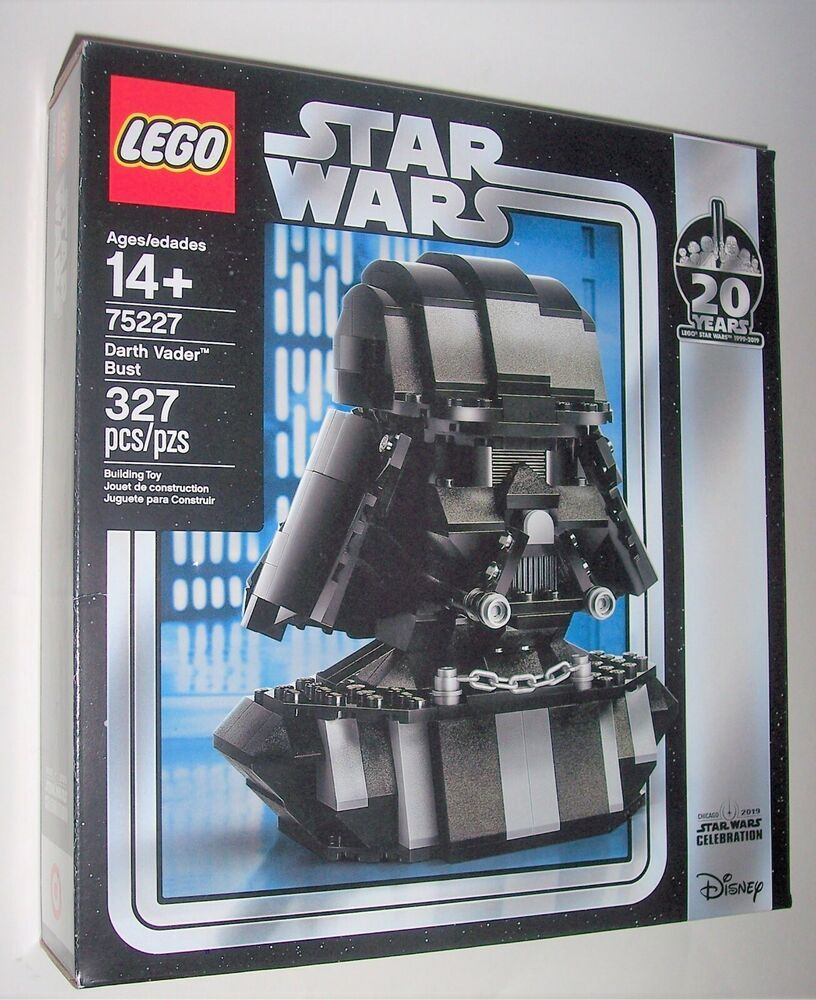 Lego Star Wars Darth Vader Bust 75227 Target Exclusive New Factory