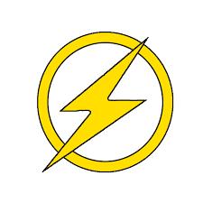 Resultado De Imagen Para Flash Symbol Stencil Stencil Template Superhero Logo Templates Stencils