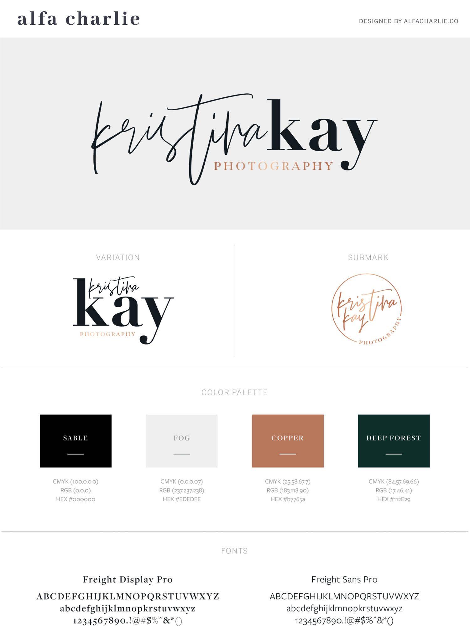 Logo Website For A Freelance Writer Alfa Charlie Creative Agency Photography Branding Brand Board Design Freelance Web Design