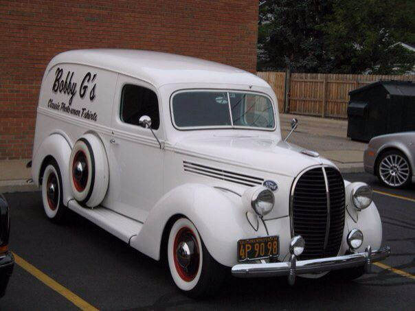 1939 Ford Panel Delivery Truck Classic Cars Trucks Vintage Trucks Old Ford Trucks