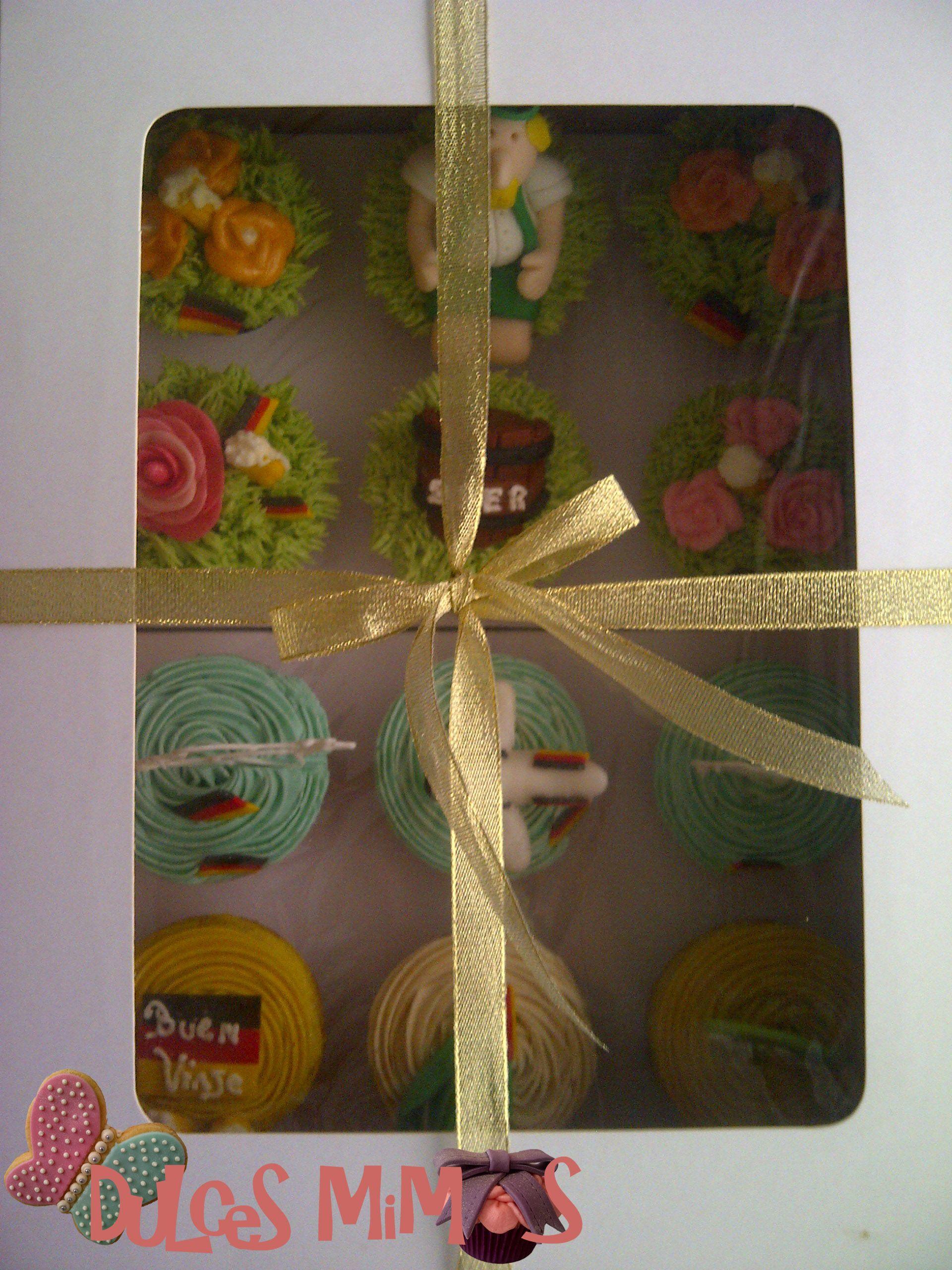 cupcakes caja