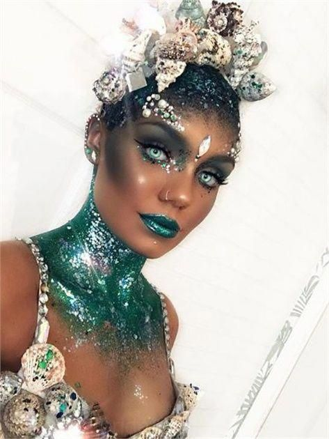 Photo of 25 Halloween-Make-up-Looks Schreien Über – Haut & Make-up – Modernen Salon #halloweenmakeup