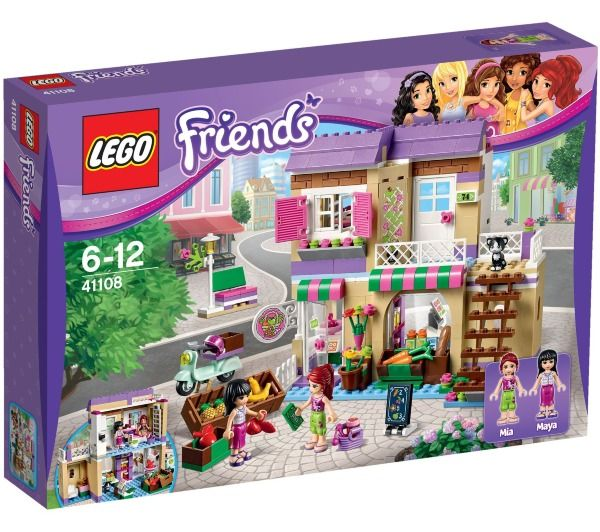 lego friends le march dheartlake city 41108