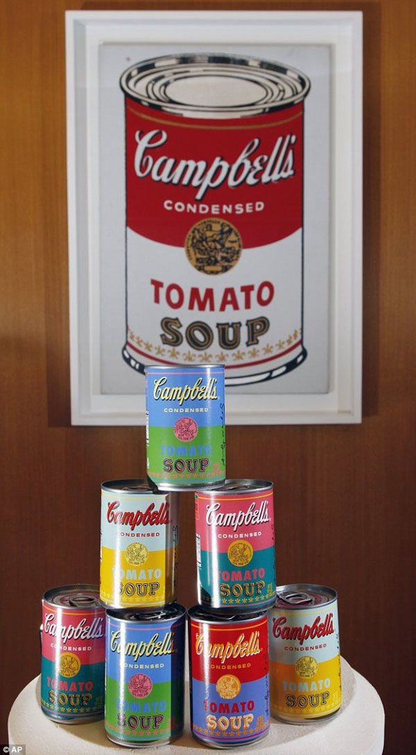 Campbells / Warhol | Art is Supermarket | Pinterest