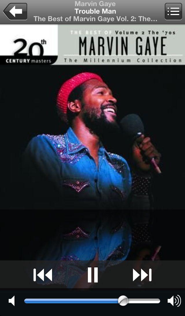 Marvin Gaye... The original Trouble Man.