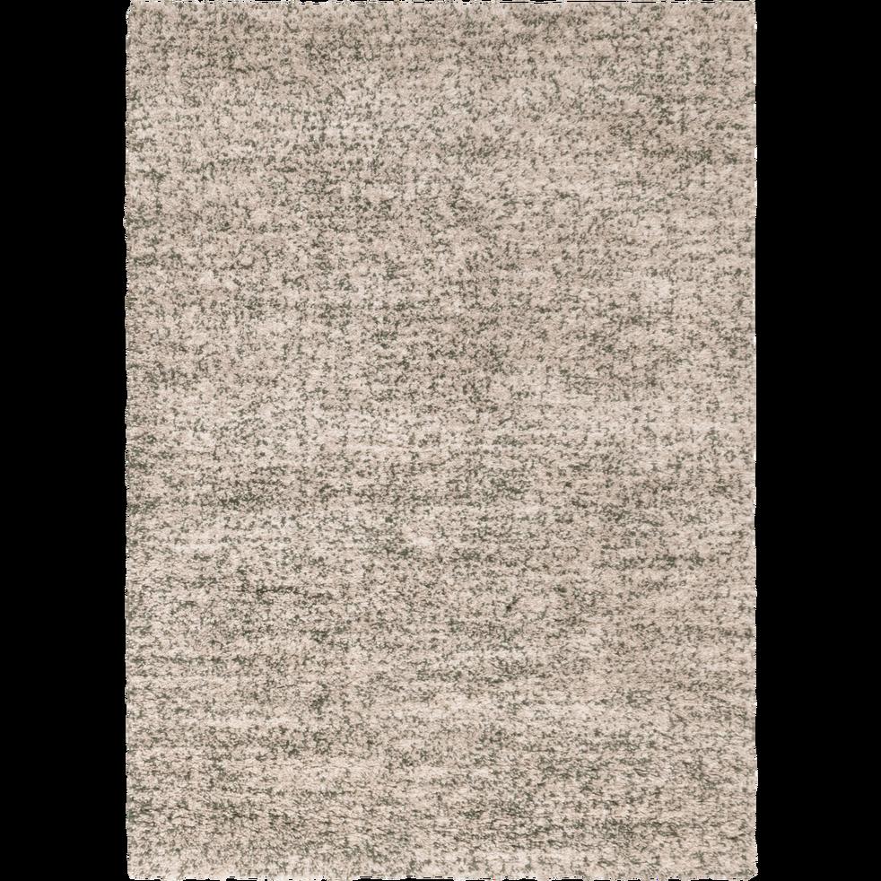 Tapis Salon Couleur Rouille tapis rectangulaire blanc moucheté 160x230 cm - anais