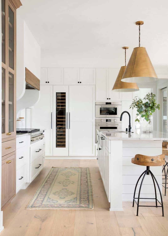 55 Most Popular Kitchens Featured On One Kindesign For 2019 Home Decor Kitchen Farmhouse Kitchen Decor Kitchen Cabinet Design