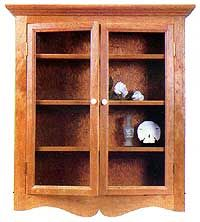 The Wall Hung Curio Cabinet Page 1 Free Pattern Wood