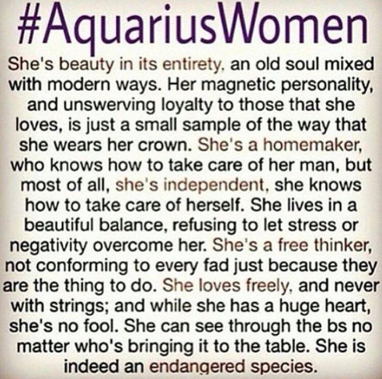 Aquarius women | water ♒ bearer | Aquarius quotes, Aquarius love