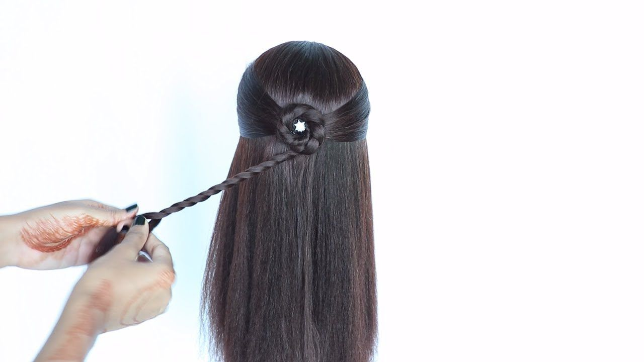 Hairstyles For Girls In 4 Easy Way New Hairstyle Hair Style Girl C Hair Styles Girl Hairstyles Baby Hairstyles