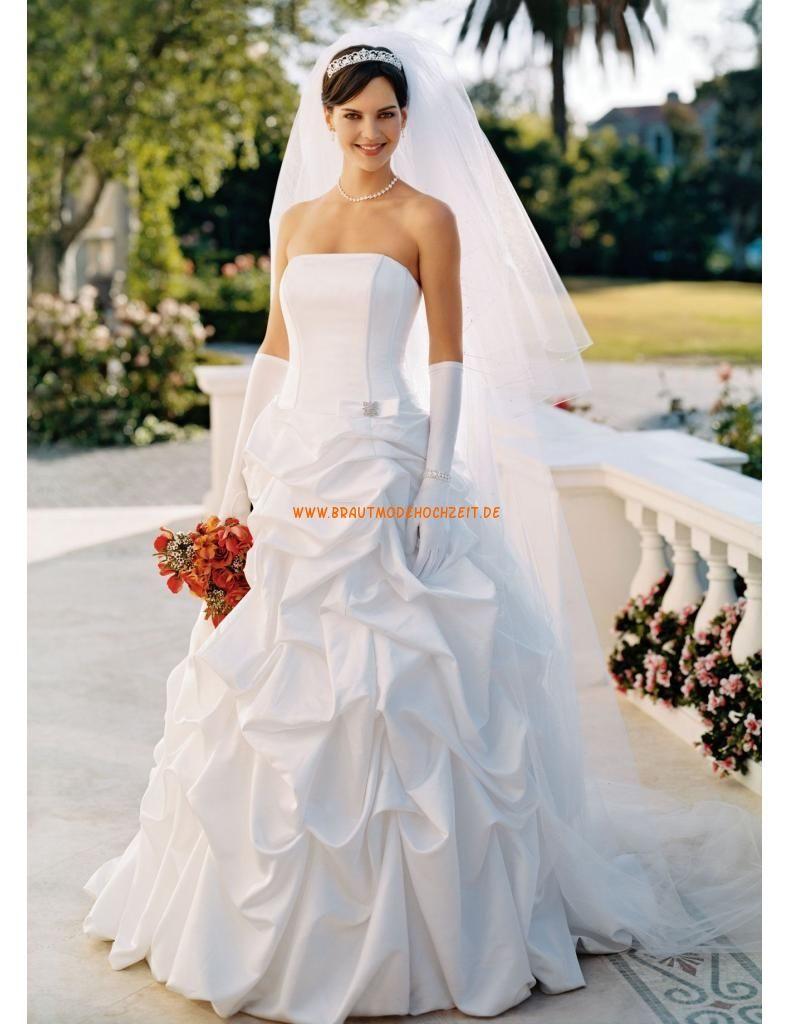 Designes Brautkleider 2014 aus Satin mit Perlenstickerei ...