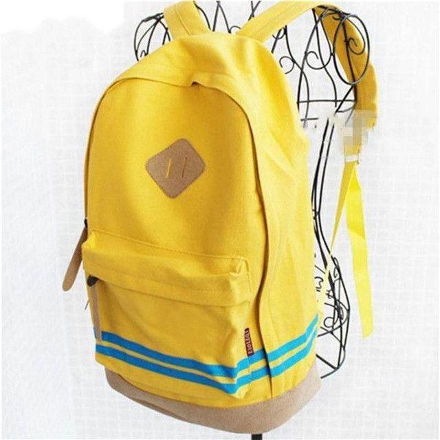 WILIAMGANU 2017 Hot Women Cartoon Canvas Backpacks Pig Nose Girl Student School Casual Travel Bag Rucksack Teenagers Backpack