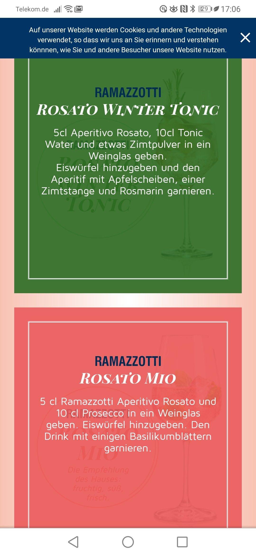 Pin Von Stephanie Schulz Auf Cocktails In 2020 Tonic Water Weinglas Ramazzotti