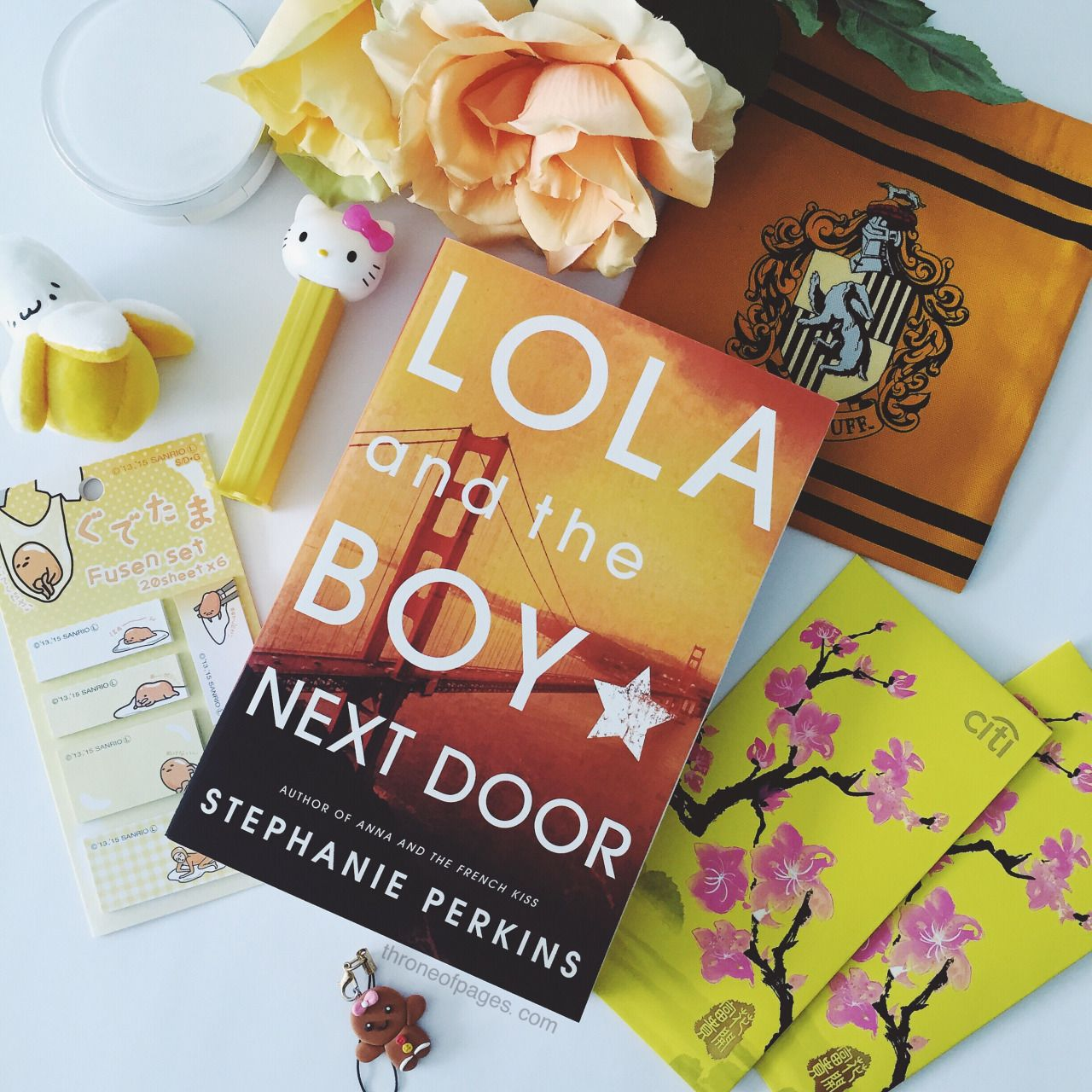 """throne-of-pages: """" Lola and the Boy Next Door 💛 Yellow book covers somehow make me feel a little happier! ☺️ """""""